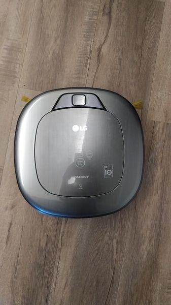 掃地機器人開箱實測PART5 : LG VR65715LVM 變頻雙眼小精靈 (灰)