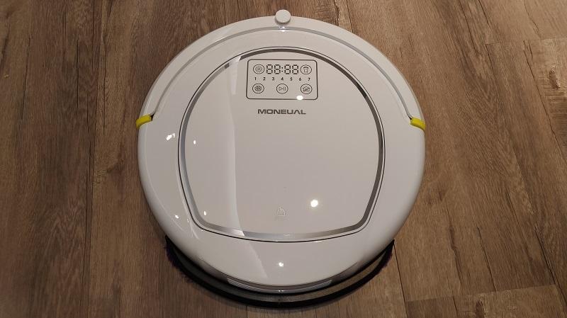 掃地機器人開箱實測PART14 : Moneual P10